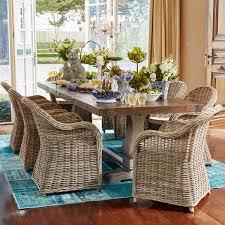 reclaimed teak dining room table early settler trestle teak dining table 300x100 chantilly