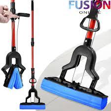 Dry Mop For Laminate Floor Super Absorbent Cleaning Sponge Mop Laminate Floor Telescopic
