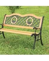 Garden Treasures Patio Bench New Deals On Cast Iron Benches Outdoor