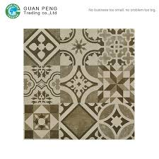 commercial restaurant floor tiles with flower pattern decorative