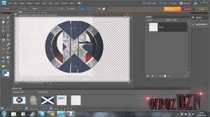 cara membuat logo bercahaya di photoshop speed art 1 my logo dg viruz youtube