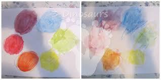 watercolor color wheel u2013 monsters love color 3 dinosaurs