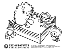 octonauts coloring pages immedium products the octonauts and the sea of shade