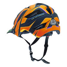 bike riding gear 2016 troy lee mtb helmet a1 reflex orange troy lee mountain