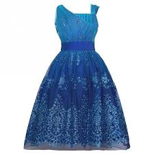 editions blue glitter dress plus size 10 5
