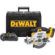 shop dewalt xr 20 volt max 6 1 2 in cordless circular saw battery