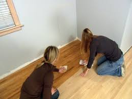 Can You Wax Laminate Flooring How To Stain A Wood Floor How Tos Diy