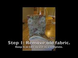 Recovering An Armchair How To Reupholster A Parsons Chair In 7 Easy Steps Youtube