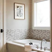 bathroom surround tile ideas gray mosaic tub surround design ideas
