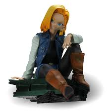 z android 18 banpresto 48441 z scultures 3 android 18