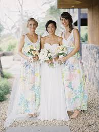 floral print bridesmaid dress get the look floral print bridesmaid dresses weddbook