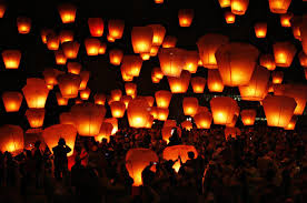 luck lanterns flying paper lanterns lanterns sky lanterns luck