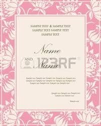 vintage wedding invitation card royalty free cliparts vectors
