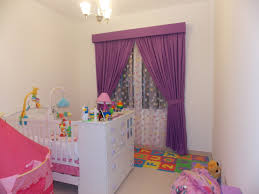 Purple Nursery Curtains by Baby Room Curtain Dubai World Of Curtains Furniture And Decor For