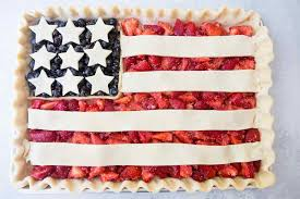 German American Flag American Flag Pie Recipe Simplyrecipes Com
