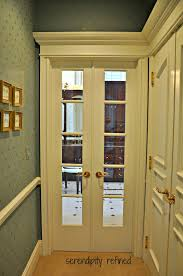 Narrow Double Doors Interior Serendipity Refined Blog Master Bathroom Reveal
