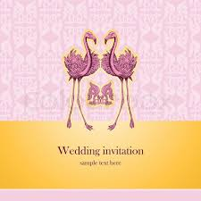 wedding wishes card template vintage beautiful wedding invitation greeting card with pink