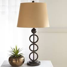 Whimsical Floor Lamps Iron Rings Table Lamp Pier 1 Imports