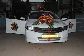 indian wedding car decoration car decoration in ellisbridge ashram road ahmedabad orchid