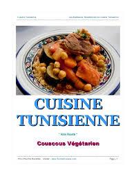 recette cuisine couscous tunisien recette couscous végétarien cuisine tunisienne