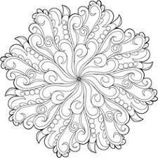 bloom free mandala coloring