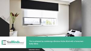 double layer roller blinds yes blinds youtube