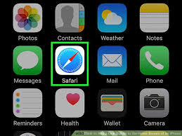 home screen icon design how to add a link button to the home screen of an iphone 6 steps