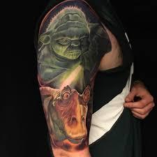 star wars half sleeve tattoo by christian boye larsen imgur
