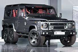 new land rover defender concept the six wheeled land rover defender can be yours for 310 000
