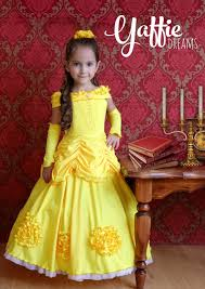 beautiful halloween costumes for kids princess belle dress disney beauty and the beast gown halloween