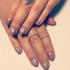 19 simple line nail designs and attractive but very simple line