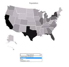 us map states excel heat map using pictures