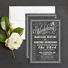 chalkboard wedding invitations chalkboard charm wedding invitations by elli