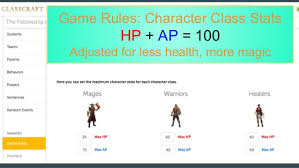 health class online high school classroom gamification for high school students