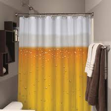 Frankenstein Shower Curtain by Beer Shower Curtain Extends Beer O U0027 Clock In Your Bathroom