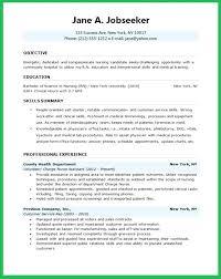 sample resume for company nurse sample oncology clinical nurse