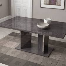 grey marble dining table high gloss dining table extending sarah grey birch sale