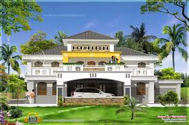 Luxery Home Plans Super Luxury Home Plan In Mahe India Kerala Home Design And