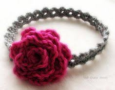 how to make baby flower headbands crochet baby flower headband pattern crochet and knit