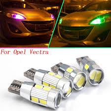 trail of lights parking 2pcs safe t10 w5w for opel vectra c vivaro f3 vivaro j7 led front