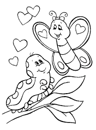 Coloring Pages Valentines Day Preschool Free Printable Kids I Coloring Pages