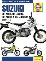 suzuki drz400 haynes manual drz400e drz400s drz400sm 2000 10 2933