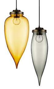 Amber Glass Pendant Lights by One Pendant Light Two Sizes Endless Possibilities