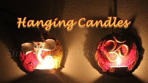 diy christmas lighting idea hanging candles using can lid i