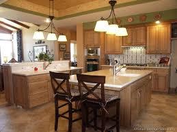 Kitchen Design With Oak Cabinet Oak Cabinet Kitchen Ideas Oak