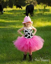 Cowgirl Halloween Costume Toddler Pink Cowgirl Double Poof Tulle Tutu Costume Hand Crochet