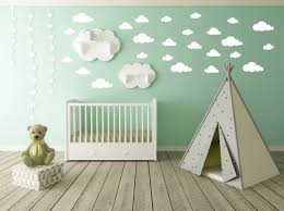 Decoration Baby Nursery Wall Decals by Cloud Wall Decal Clouds Decal Cloud Sticker Kid Wall