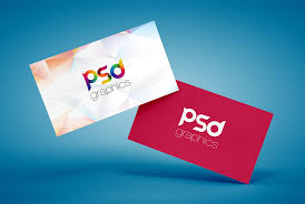 Business Card Mockup Psd Download Floating Business Card Mockup Free Psd Download Download Psd