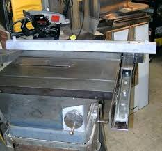 craftsman 10 inch table saw parts sears 10 inch table saw picture of i want to make a fence too sears