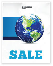 world globe sale poster template in microsoft word publisher and
